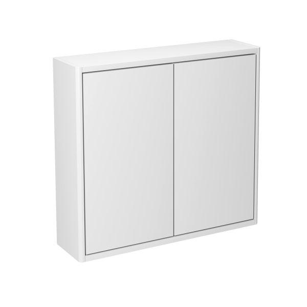 Gustavsberg Graphic Baderomsskap 60 x 16 cm, glatt Hvit