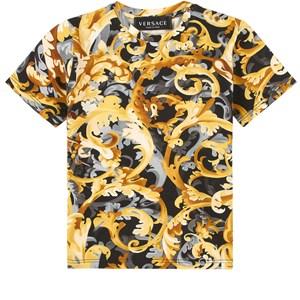 Versace Baroccoflage T-shirt Svart 24 mån