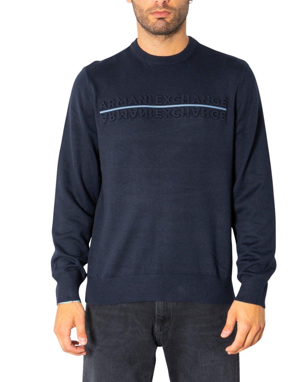 Armani Exchange Men's Sweater Various Colours 308093 - blue-1 XS