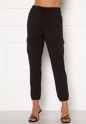 ONLY Poptrash Life Cargo Belt Pants Black XL/30