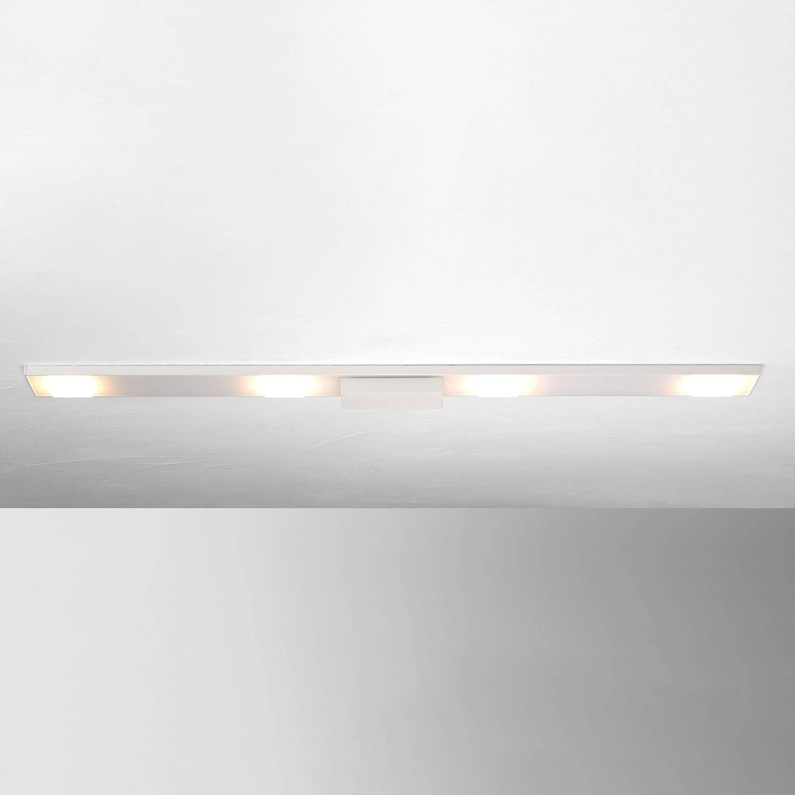 4-lamppuinen LED-kattovalaisin Slight, valkoinen