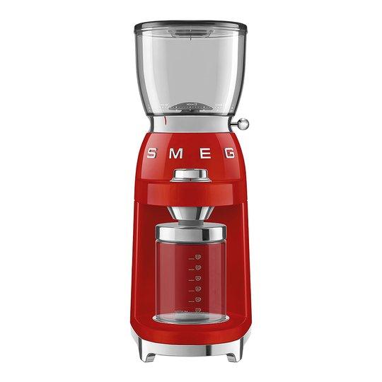 Smeg - 50's Style Kaffekvarn Röd