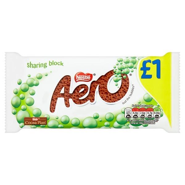 Aero Peppermint Mint Chocolate Bar 90g