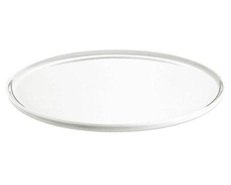 Pizzatallerken Hvit, Ø 33 cm
