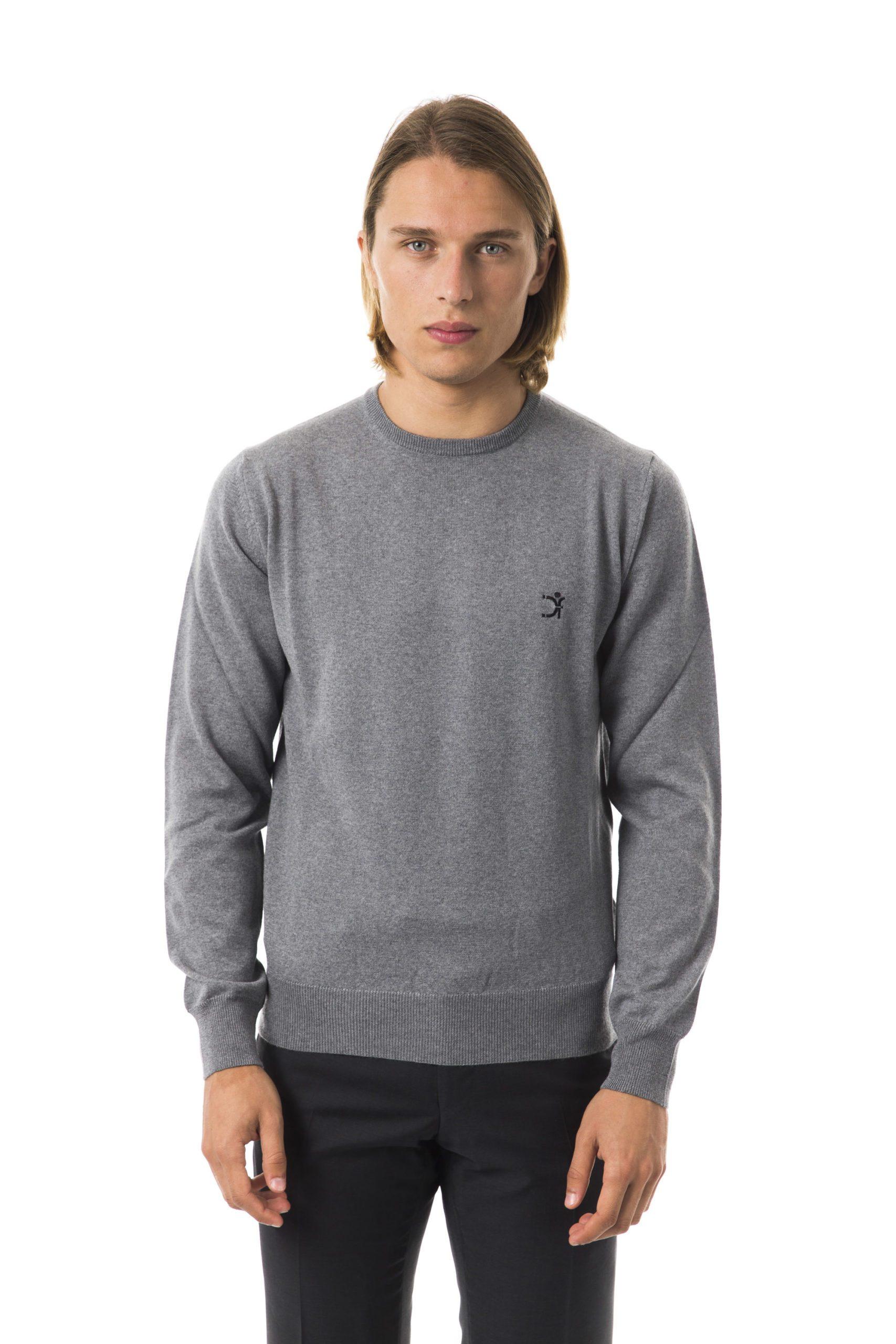 Uominitaliani Men's Grimd Sweater Gray UO816618 - L