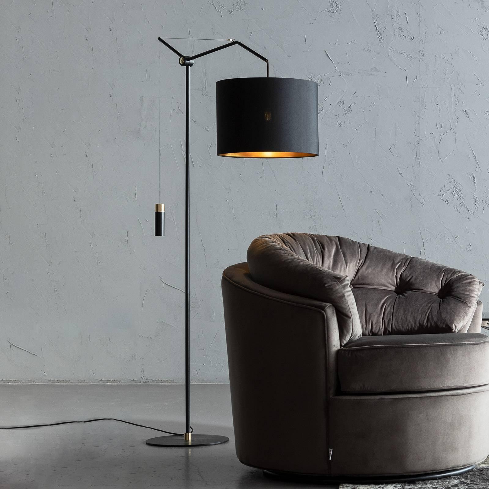 KARE Salotto gulvlampe, høydejusterbar