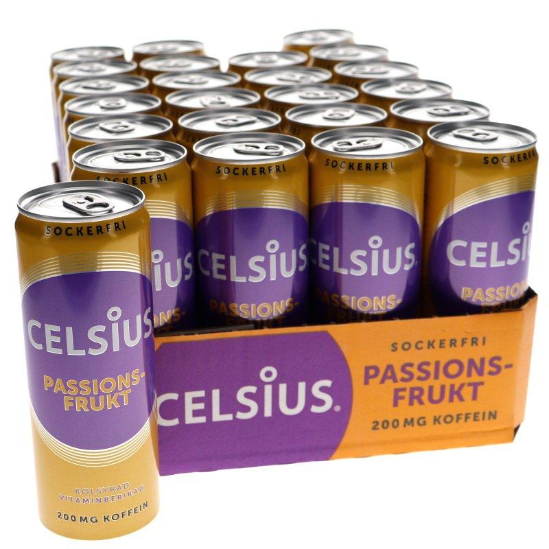 Celsius Passionsfrukt 24-pack - 54% rabatt
