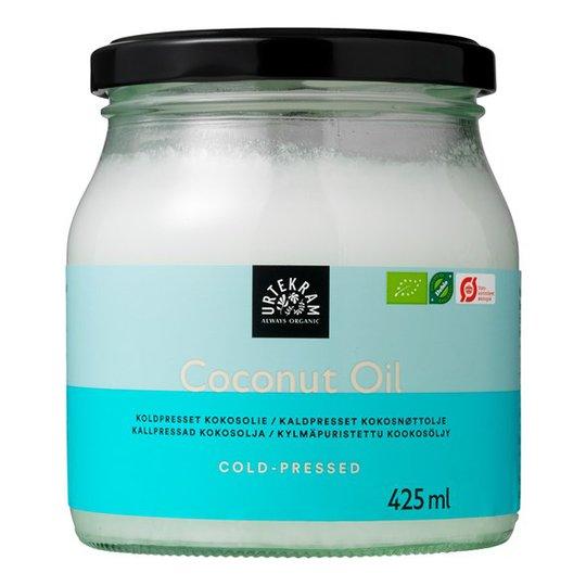Urtekram Food Ekologisk Kokosolja Kallpressad, 425 ml