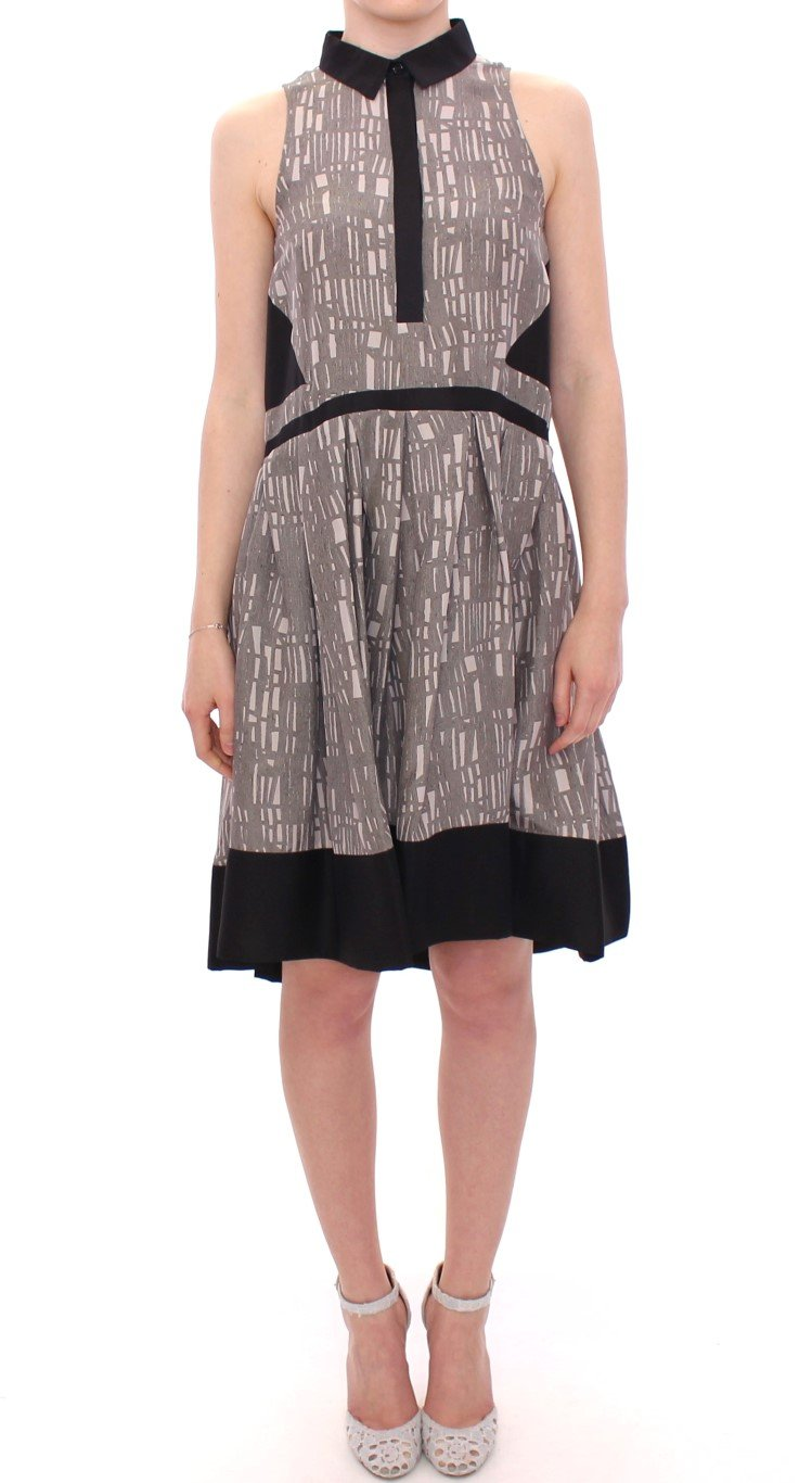 Comeforbreakfast Women's Silk A-Line Shift Dress Multicolor MOM10051 - IT38 XS
