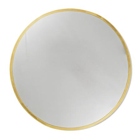 Moon Speil Polert Messing 87 cm