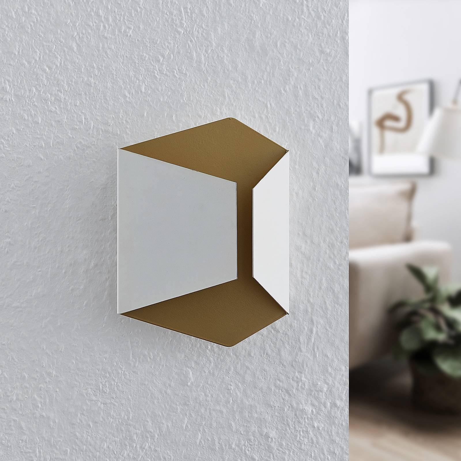 Lindby Anjaya -LED-seinävalaisin, valkoinen