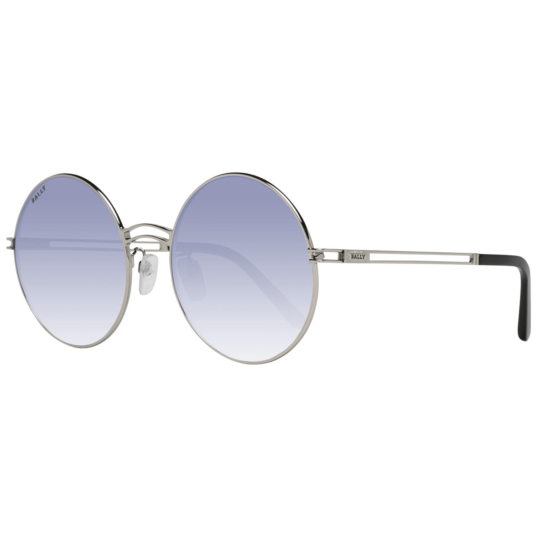 Bally Women's Sunglasses Silver BY0001-D 5616B