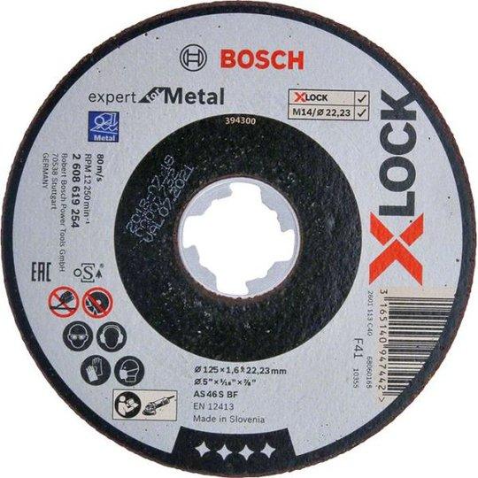 Bosch Expert for Metal Katkaisulaikka X-LOCK 125 × 1,6 × 22,23 mm