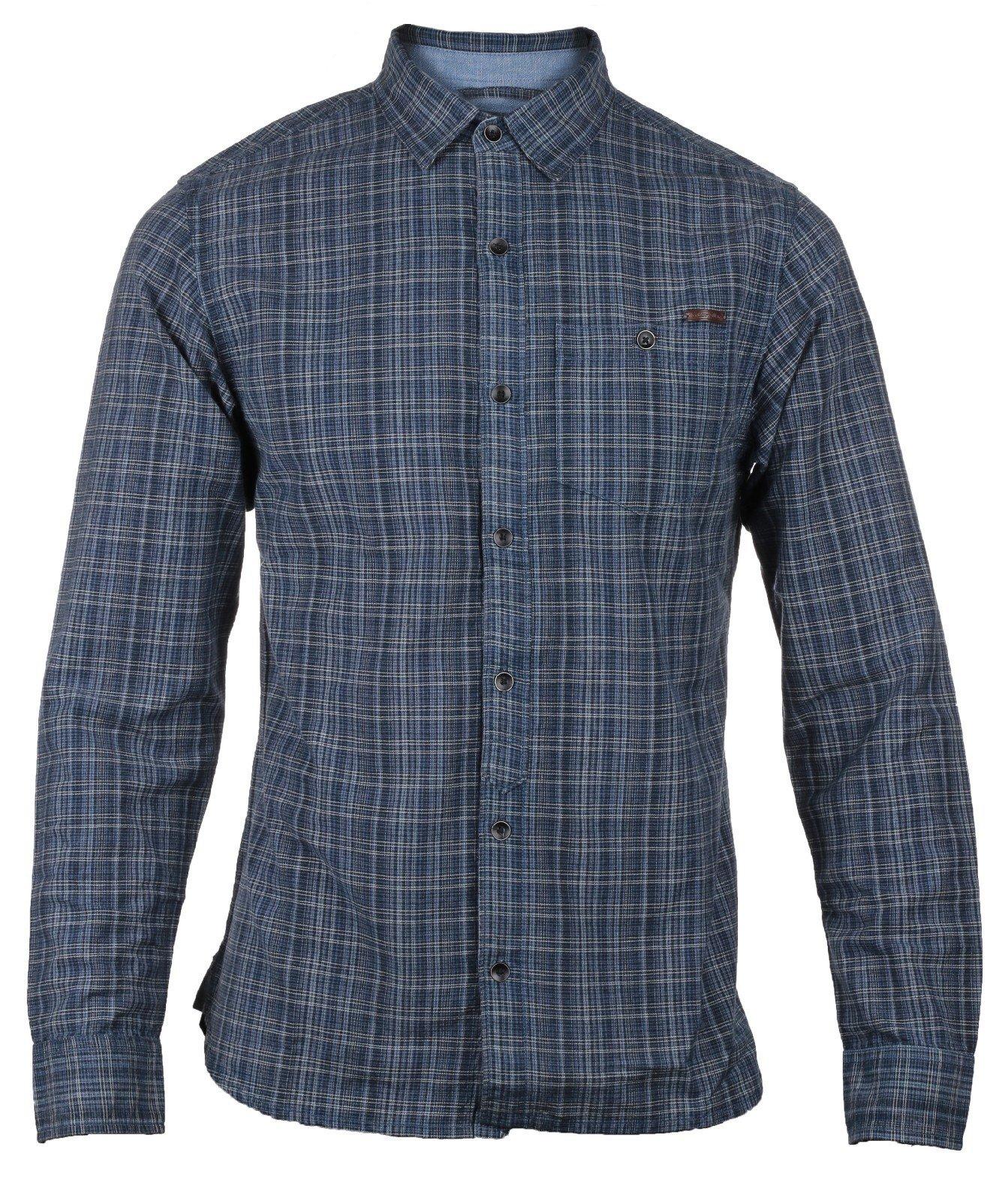 CAT Lifestyle Men's Radford LS Shirt Various Colours 24139 - Plaid Sml