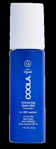 Coola - Classic Full Spectrum Refreshing Water Mist Suncreen SPF 18 - 50 ml