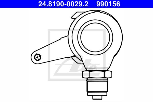 Vipu, jarrusatula-seisontajarru ATE 24.8190-0029.2