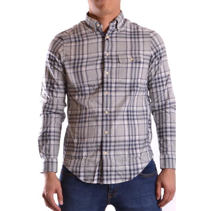 Gant Men's Shirt Grey 161045 - grey S