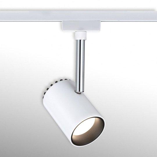Paulmann URail Shine -LED-kohdevalo, valkoinen