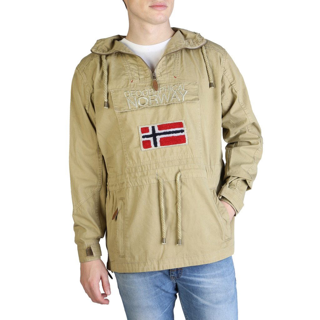 Geographical Norway Men's Chomer_man Jacket Various Colours 333251 - brown XXL