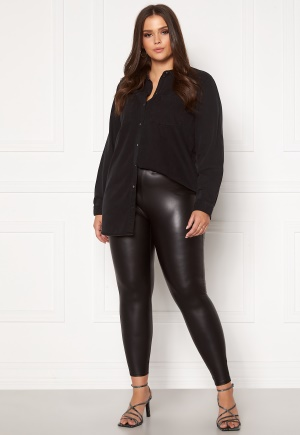 Only Carmakoma Rool Coated Legging Black 54 (XL)