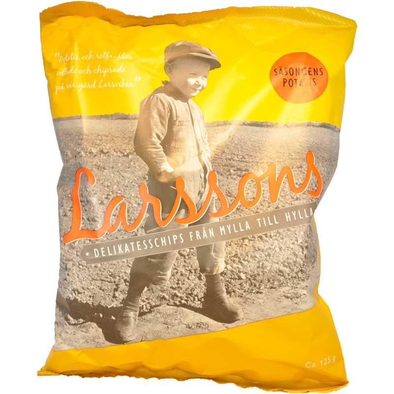 Larssons delikatesschips Säsongens potatis - 67% rabatt
