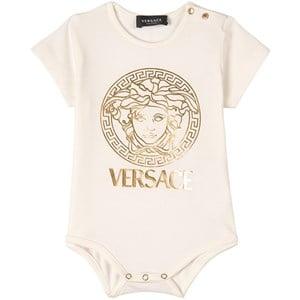 Versace Medusa Print Baby Body Vit 6-9 mån