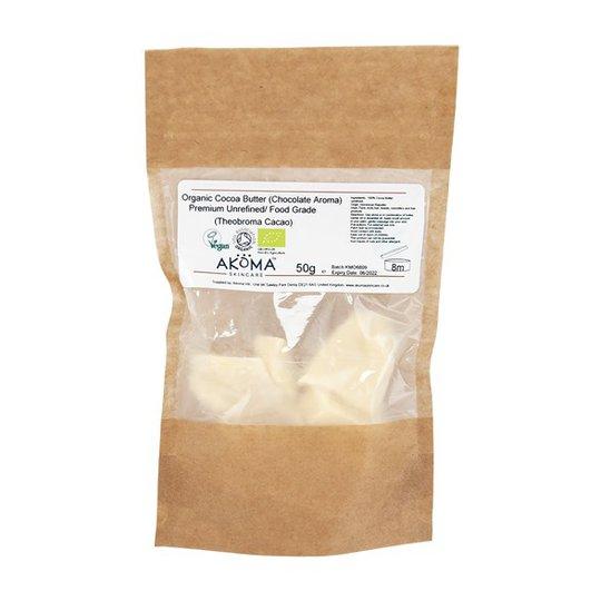 Akoma Premium Unrefined Cocoa Butter (Chocolate Aroma)