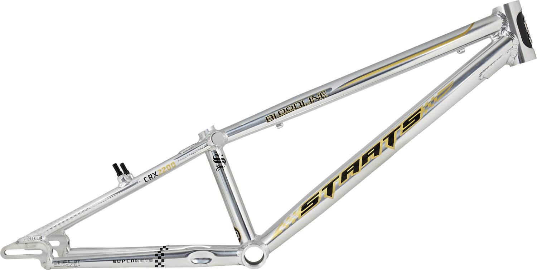 """Staats Bloodline 24"""" Cruiser Race BMX Ram Pro XL Silver"""