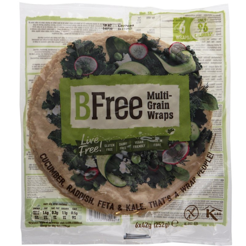 Glutenfria Wraps 6-pack - 27% rabatt