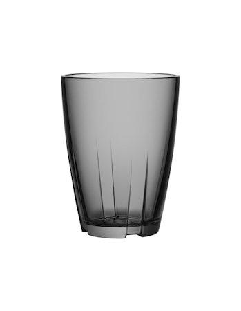 Bruk Grå Drikkeglass Stor 2-pakk
