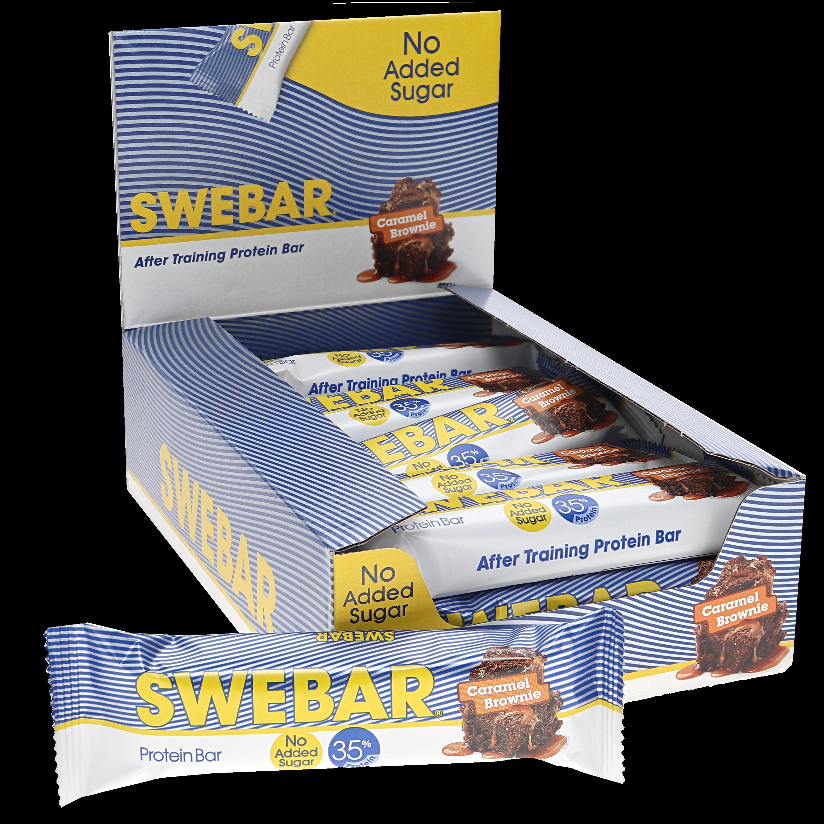 Proteinbars Caramel brownie 15-pack - 30% rabatt