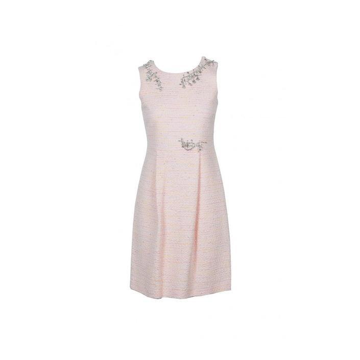 Boutique Moschino Women's Dress Pink 171260 - pink 40