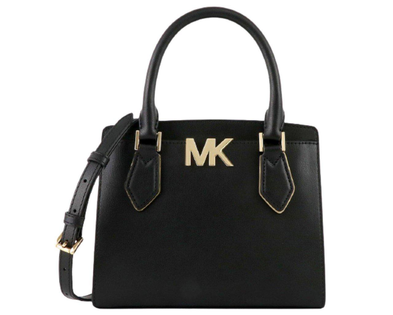 Michael Kors Women's Mott Crossbody Bag Black MK27553