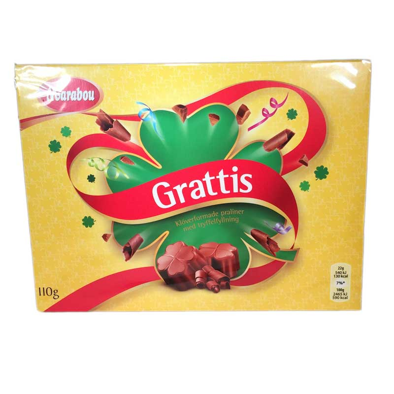 Chokladask Grattis - 81% rabatt