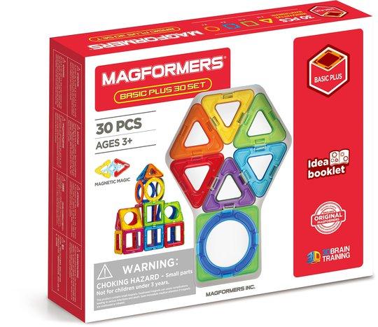 Magformers Byggesett Basic Plus 30