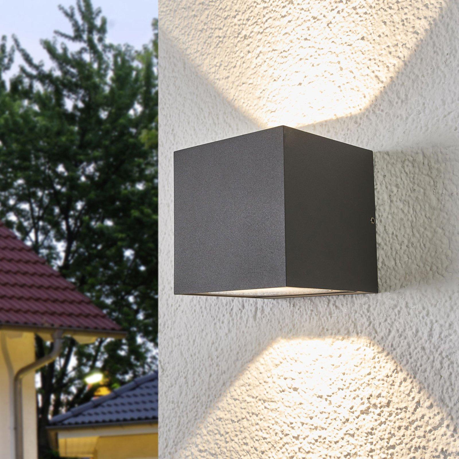 LED-vegglampe Merjem, lyser oppover og nedover