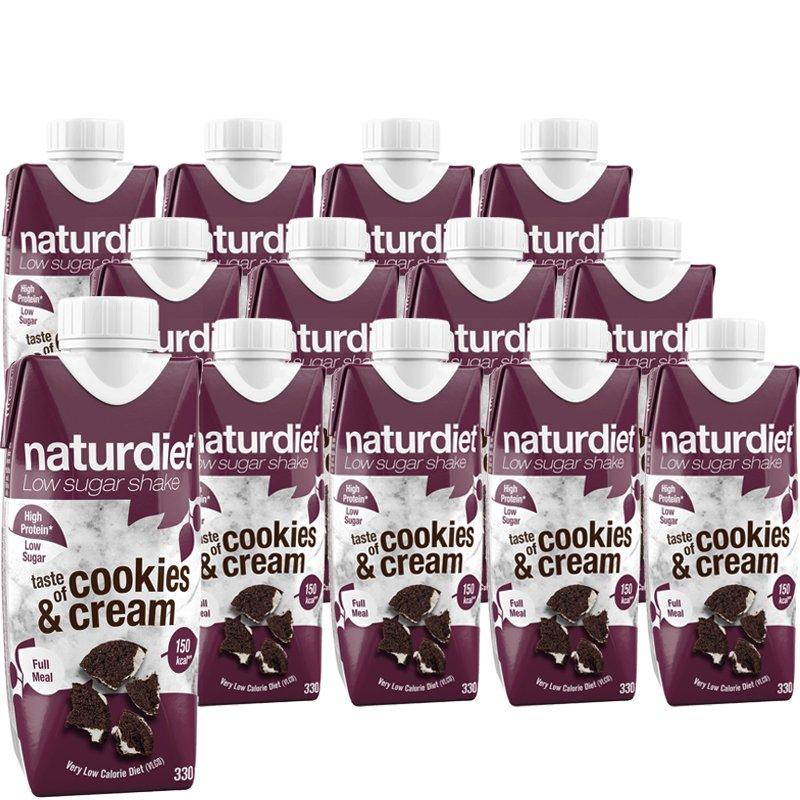 Ruokavalionkorvike Cookies & Cream 12kpl - 26% alennus