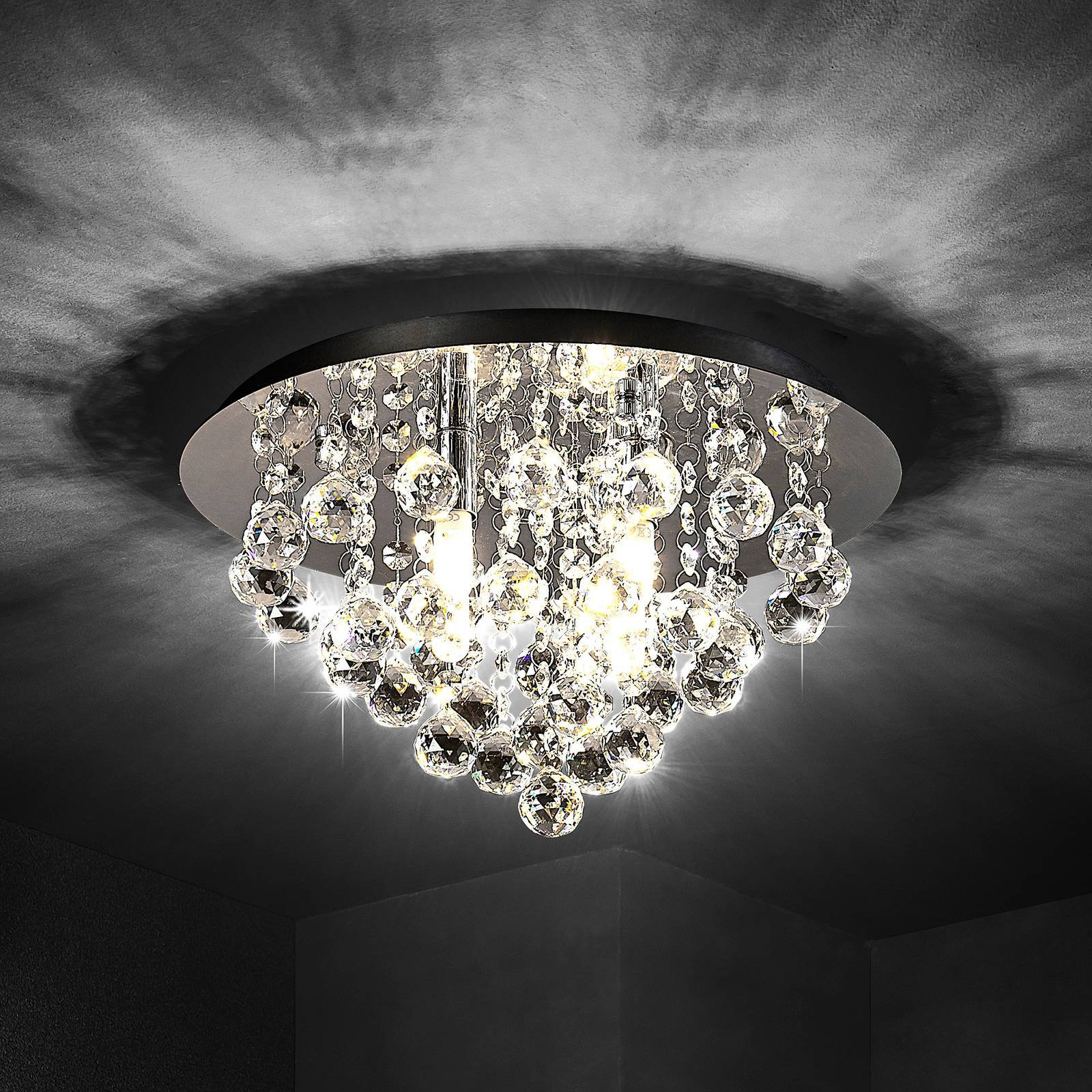 Lindby Antonino taklampe, 4 lyskilder