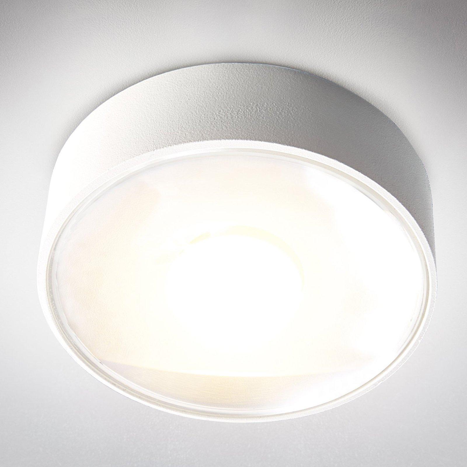Utendørs LED-taklampe Girona, hvit