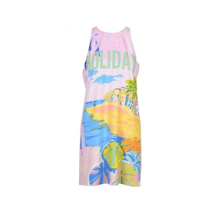 Boutique Moschino Women's Dress Pink 171289 - pink 36