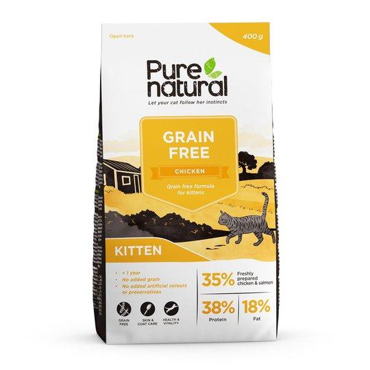 Purenatural Kitten Grain Free Chicken (2 kg)
