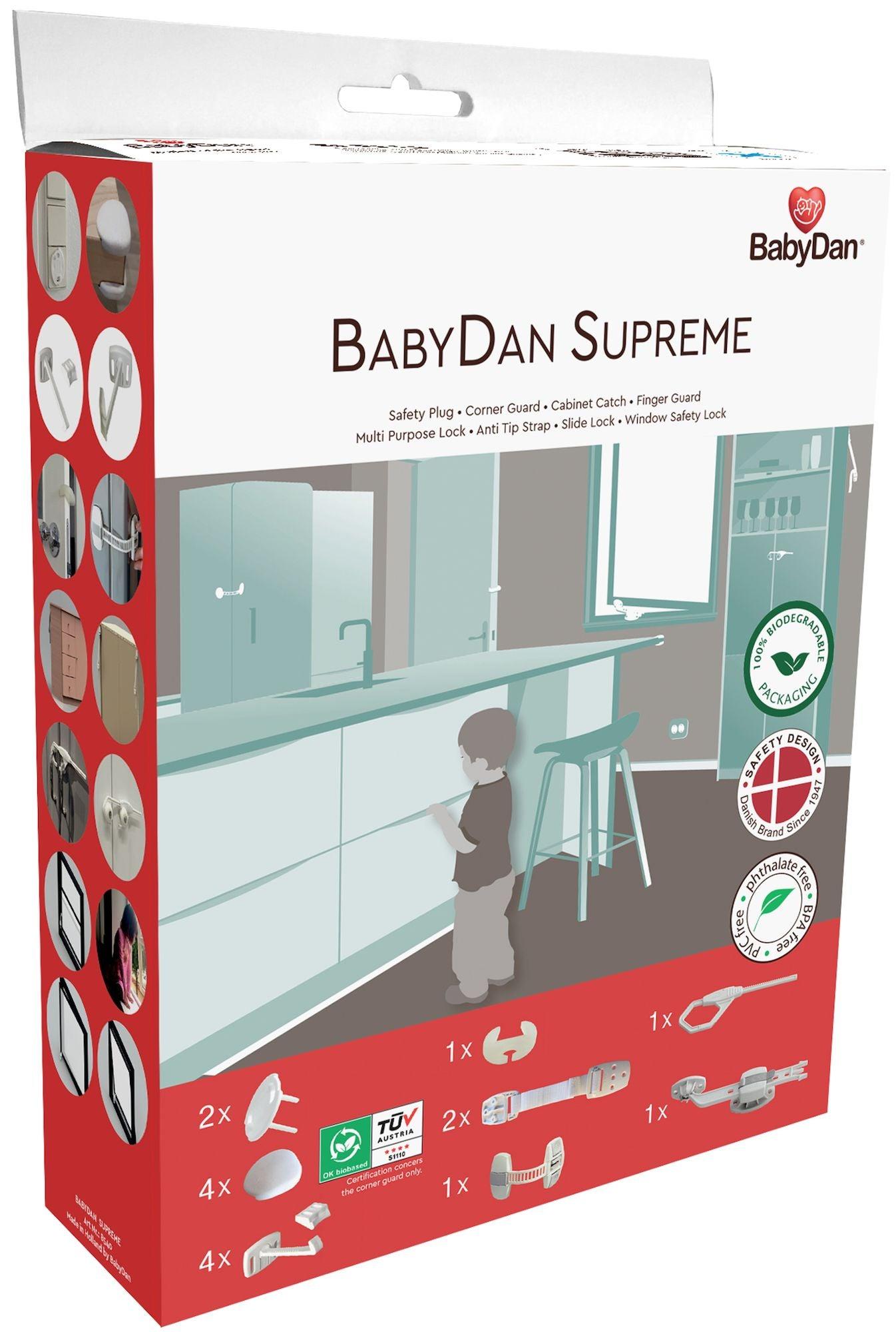 BabyDan Kodin Turvatuotteet Aloituspakkaus, 16 osaa