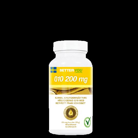 Q10 200 mg, 60 kapslar
