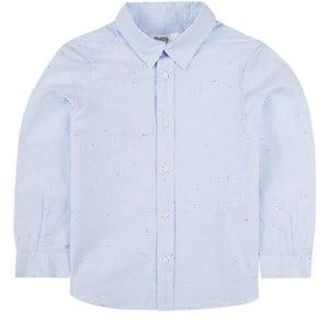 Bonpoint Acteur Skjorta Blå melange 6 år