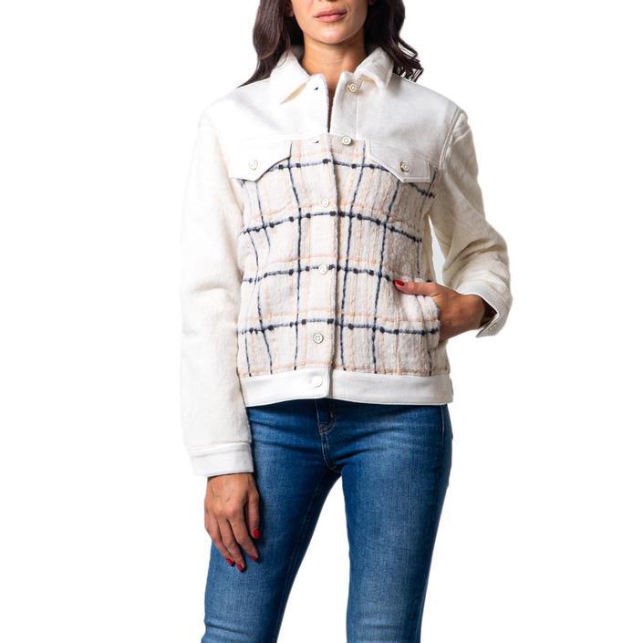 Desigual Women's Blazer White 177030 - white M
