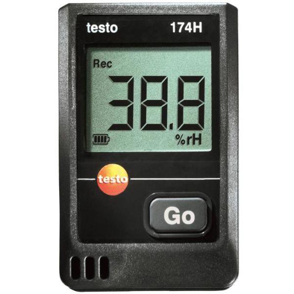 Testo 174-H Dataloggeripaketti lämpötila ja kosteus
