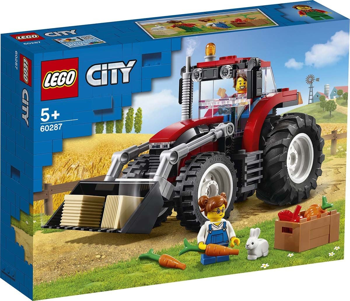 LEGO City Great Vehicles 60287 Traktori