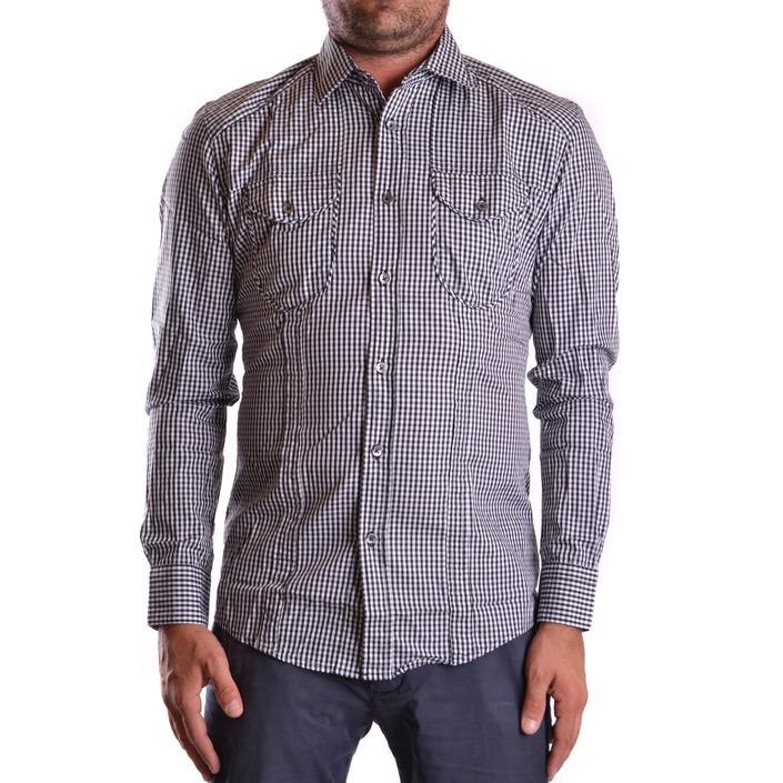 Daniele Alessandrini Men's Shirt Grey 163039 - grey 39