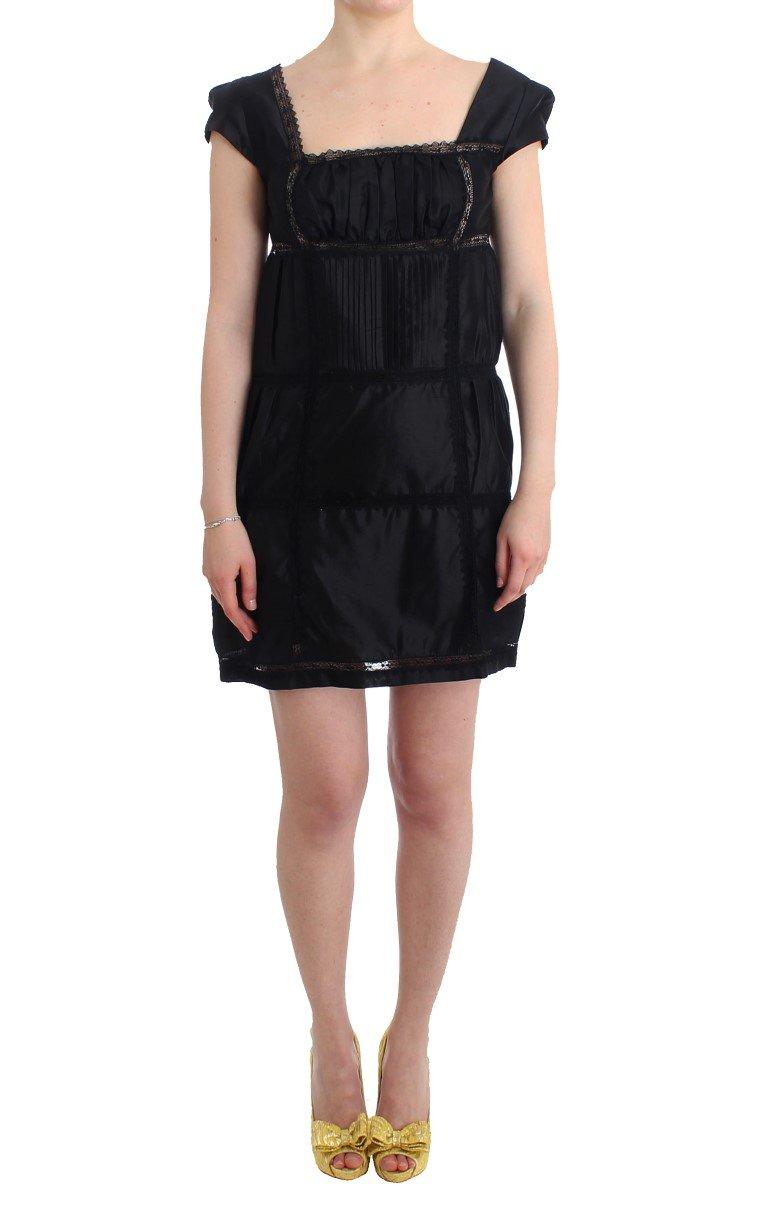 Ermanno Scervino Women's Shift Sheath Dress Black SIG11514 - IT42|M