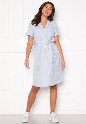 Happy Holly Sandra ss shirt dress Striped 40/42